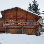 Front of the chalet - 18 Nov 2014