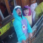 Dave Hooker & Toni Fryer - Eyeore & Pikachu