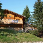 Front of the Chalet - Summer