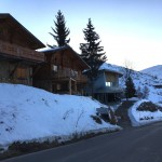 Front of Chalet - Winter