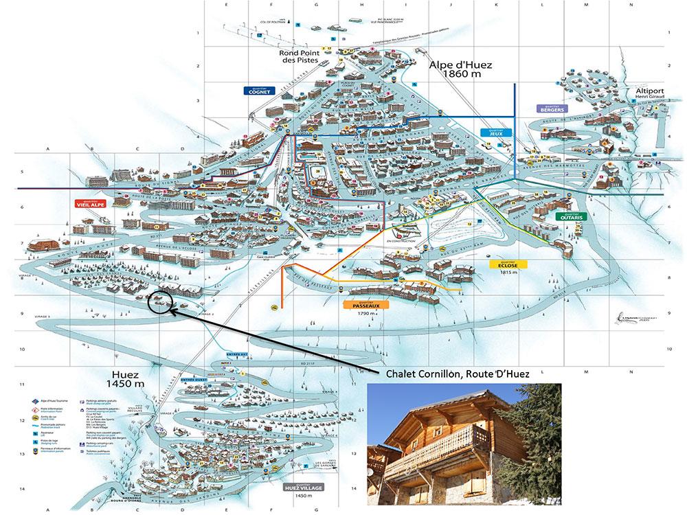 Chalet Cornillon Holiday Villa Alpe DHuez