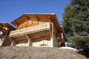 View of front of chalet 2